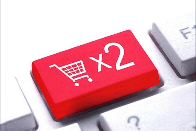 удвоение продаж в интернет магазине перспектива привлекала